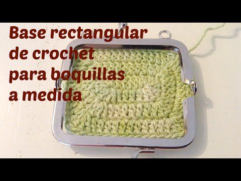 Base de monedero a crochet con boquilla a medida         |          HandworkDIY