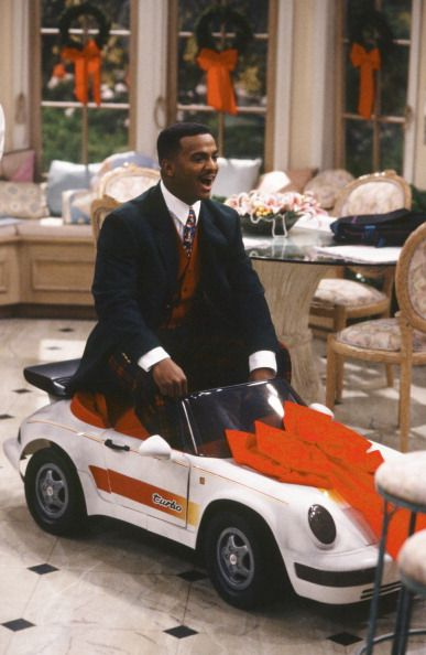 FRESH PRINCE OF BEL-AIR -- Episode 13 -- Pictured: Alfonso Ribeiro as Carlton Banks -- Photo by: Chris Haston