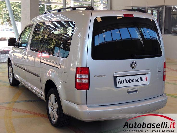 VOLKSWAGEN CADDY 2.0 METANO ECOFUEL COMFORTLINE MAXI Impianto metano + Climatizzatore bi-zona + Cruise control + Radio cd + Cerchi in lega + Sensori di parcheggio + Portelloni scorrevoli + Garanzia Volkswagen + Unica proprietaria + del 2015