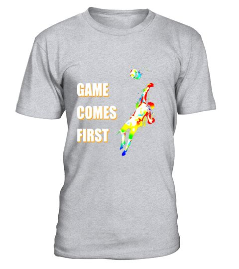"# Game Comes First sports tshirt - sports tee .  Special Offer, not available in shops      Comes in a variety of styles and colours      Buy yours now before it is too late!      Secured payment via Visa / Mastercard / Amex / PayPal      How to place an order            Choose the model from the drop-down menu      Click on ""Buy it now""      Choose the size and the quantity      Add your delivery address and bank details      And that's it!      Tags: Feel empowered with this is a Game…"