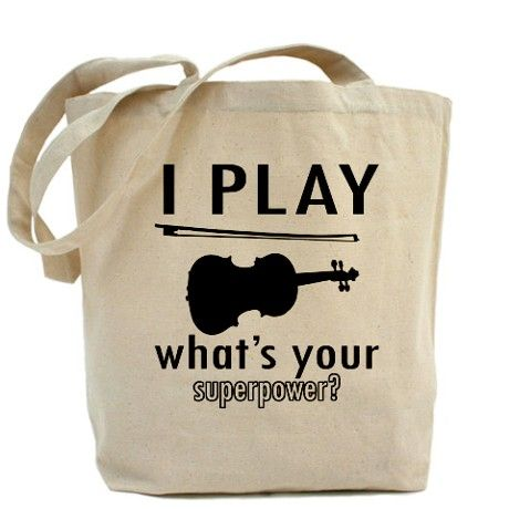 Cool Violin Designs Tote Bag