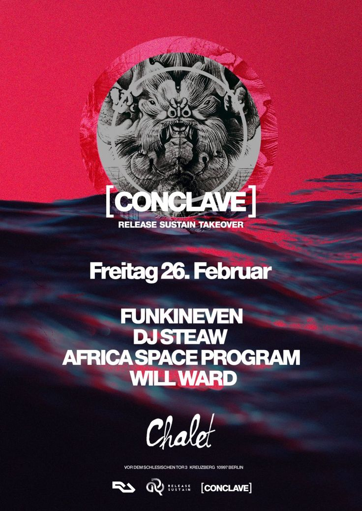 RA: Release Sustain with Funkineven, DJ Steaw, Africa Space Program & More at Chalet, Berlin