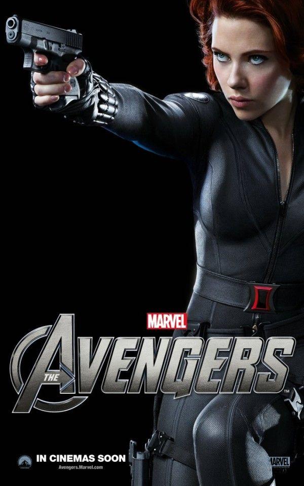 Black Widow Avengers Poster | Avengers : premier extrait avec Scarlett Johansson | Critique Film