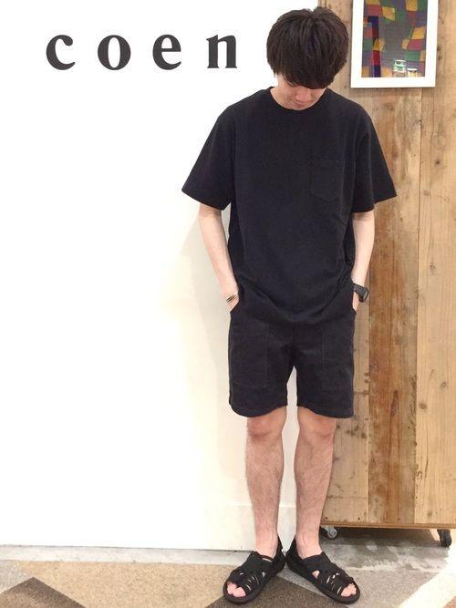 coen  前田さんの「【C.MC】USAコットンTシャツ(coen)」を使ったコーディネート
