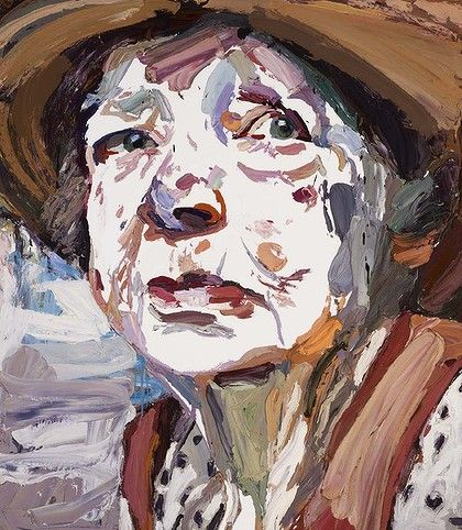 Ben Quilty's Archibald Prize-winning portrait of Margaret Olley.