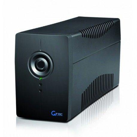 PC615N-850 - UPS Line Interactive 850VA/480W  GTEC PC615N-850 Tecnologia Line Interactive con Stabilizzatore Automatico di Tensione (AVR) Potenza 850VA/480W - Porta comunicazione USB - Software di controllo Indicato per utenza domestica e piccoli uffici.  68,63 €