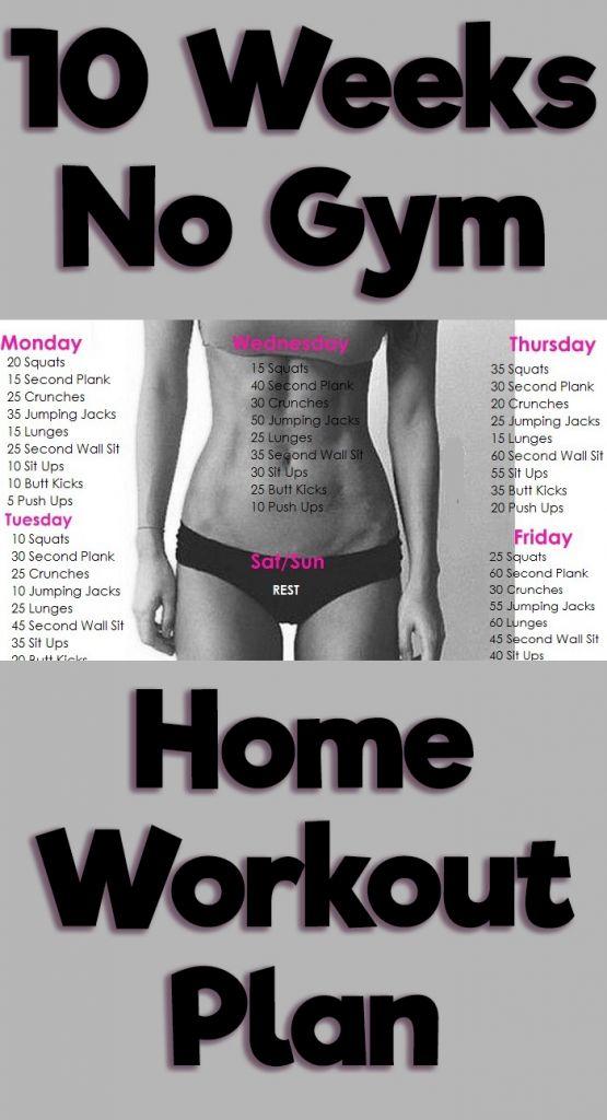 The 25+ best 10 week workout plan ideas on Pinterest 10 week - weekly workout plan