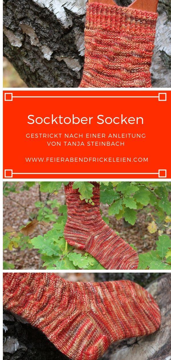 Socktober Noch Mehr Socken Von Tanja Steinbach Meine Fummeley