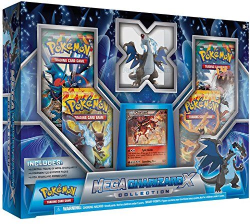 5% Off was $19.99, now is $18.99! Mega Charizard X Collection Box Black (Pokemon: TCG)