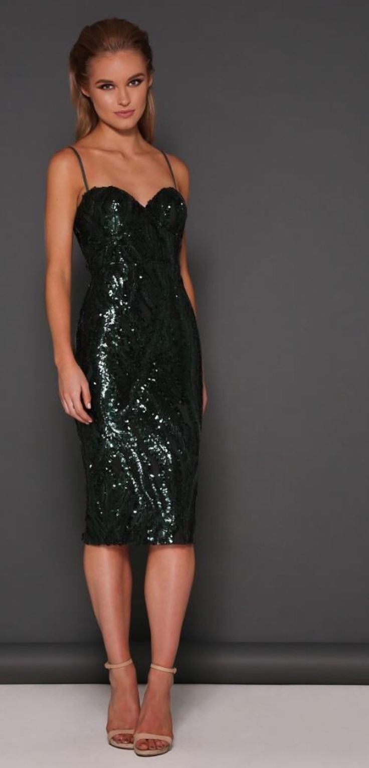 Sequin pattern cocktail dress  Designer- Elle Zeitoune