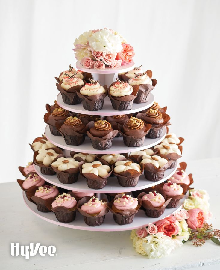 wedding bakeries in sacramento ca%0A Give a nod to the traditional tiers of classic wedding cake with a decadent  cupcake tower