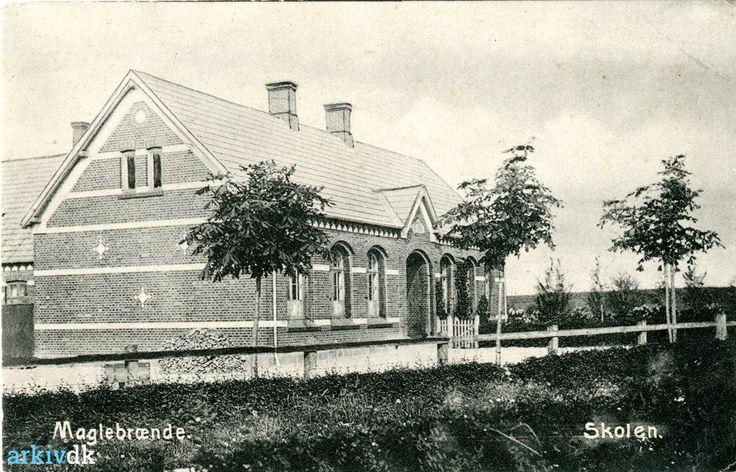 arkiv.dk | Skolen i Maglebrænde