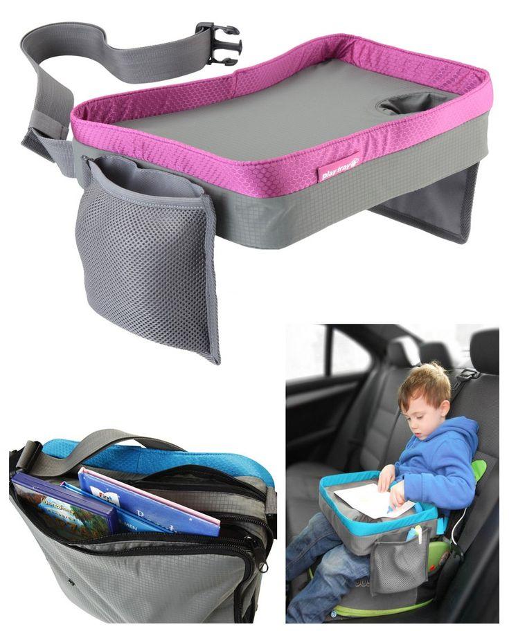 Travel Snack e Play Tray da viaggio, support per bambini - auto, vassoio, passeggino - rosa: Amazon.it: Prima infanzia