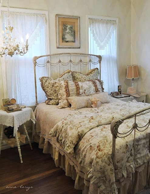 Vintage Victorian Bedroom Ideas : Best images about antique iron beds on