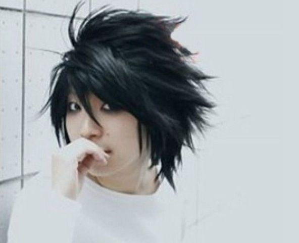 Death Note L Cosplay Wig //Price: $26.99 & FREE Shipping //    #FAnMerch    https://otakuarcadia.com/death-note-l-cosplay-wig/