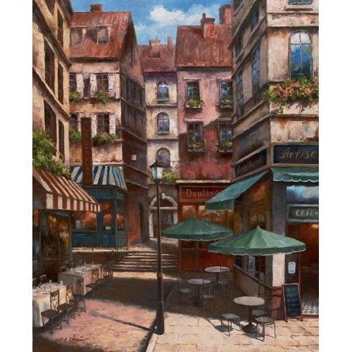 2 La Bistro Italian Cafe Posters. Love Italian cafe's ~!~