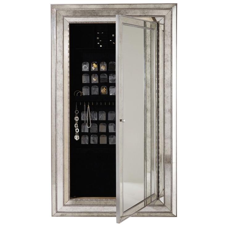 mirror with hidden jewelry storage. i die.