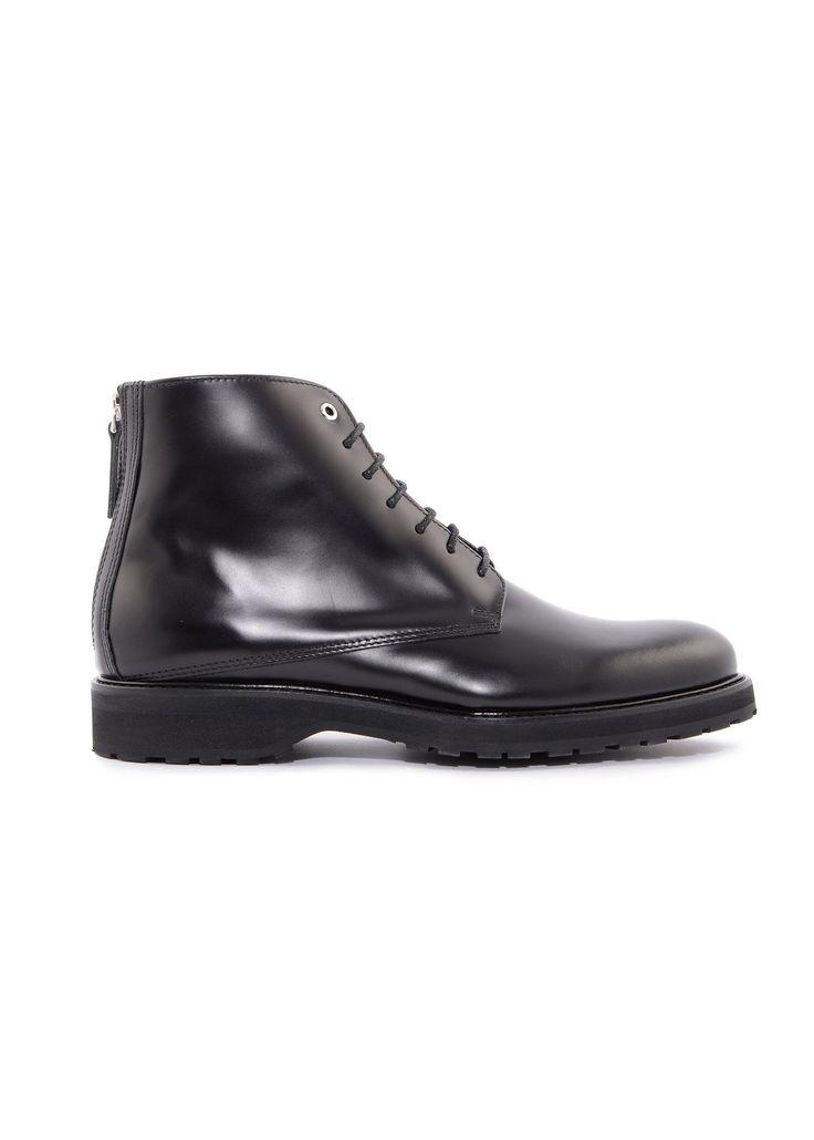Want Les Essentiels de la Vie - Menswear - FW16 // Black Montoro high lugged derby shoes