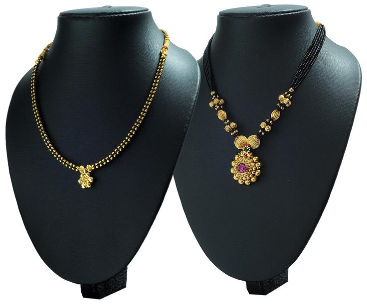 Buy Womens Trendz Combo Pack of 2 Mangalsutra MS01-29 at lowest price