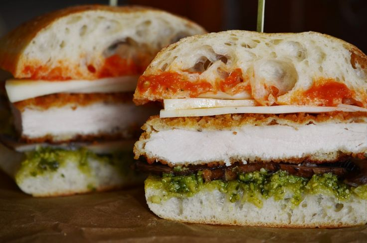 19 Best Images About Breaded Chicken Sandwiches On