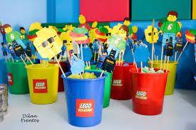 Resultado de imagen para festa lego centro de mesa