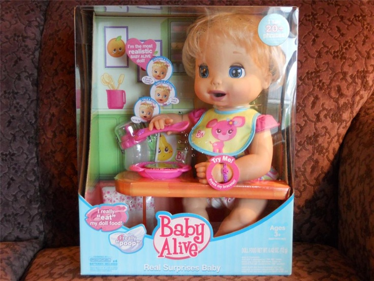 Baby Alive Real Surprises 2006