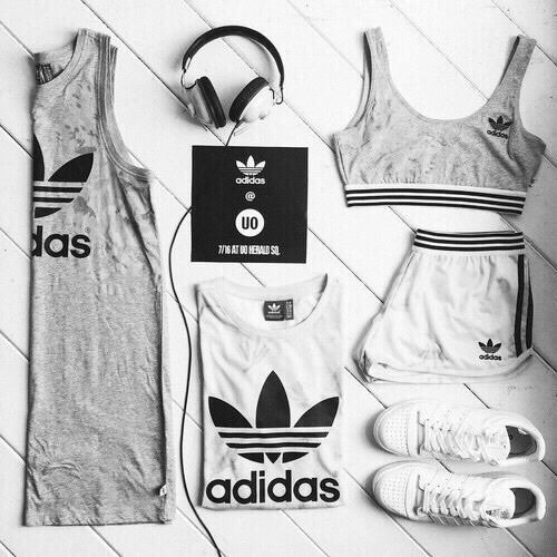 adidas, outfit, and sport-bild
