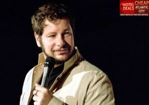 Jersey born roast master and stand-up comic Jeff Ross performs at the Borgata Music Box on March 7, 2014.
