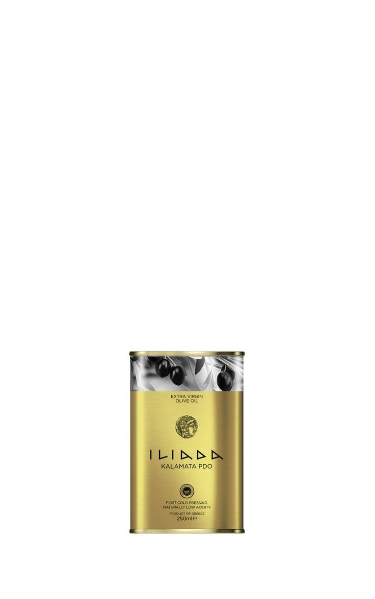 ILIADA PDO Kalamata Extra Virgin Olive Oil 250ml Tin