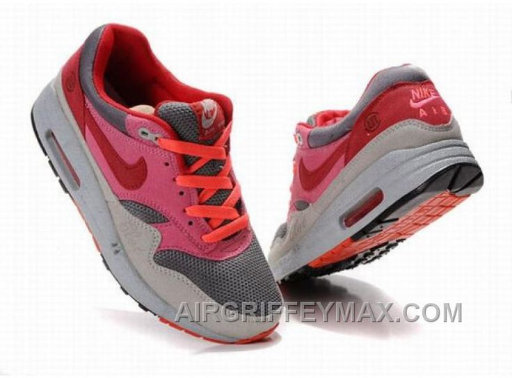 http://www.airgriffeymax.com/womens-nike-air-max-87-shoes-grey-red-pink-cheap.html WOMEN'S NIKE AIR MAX 87 SHOES GREY/RED/PINK CHEAP Only $94.40 , Free Shipping!