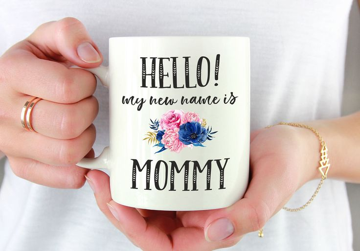 Mommy Mug, Mom Mug, Mom Coffee Mug, First Time Mom Mug, Mom To Be Gift, Mom Established, Baby Shower Gift, Mom To Be, My New Name Is Mommy by mhuglife on Etsy