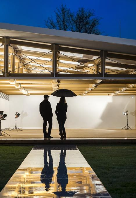 17 best ideas about roof structure on pinterest light architecture pavilion architecture and - Lakonis architekten ...