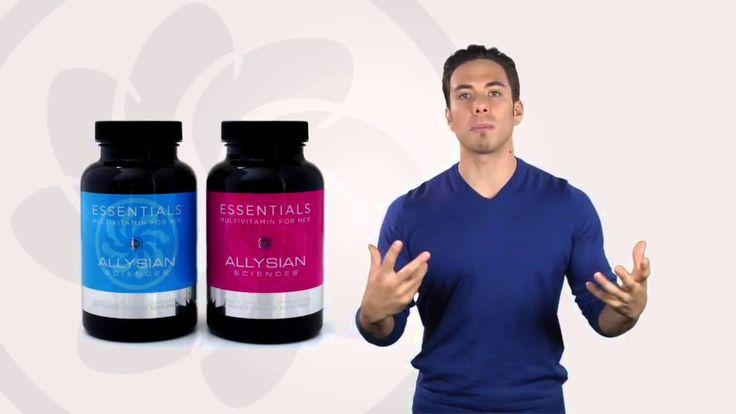 Allysian Sciences Essentials https://www.youtube.com/watch?v=PBNUFp1QWE4