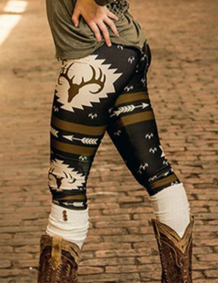 3dクリスマス鹿プリントレギンスカジュアルスリムペンシルパンツファッションレギンス女性レギンスセクシーなヒッププッシュアップパンツドロップシッピング