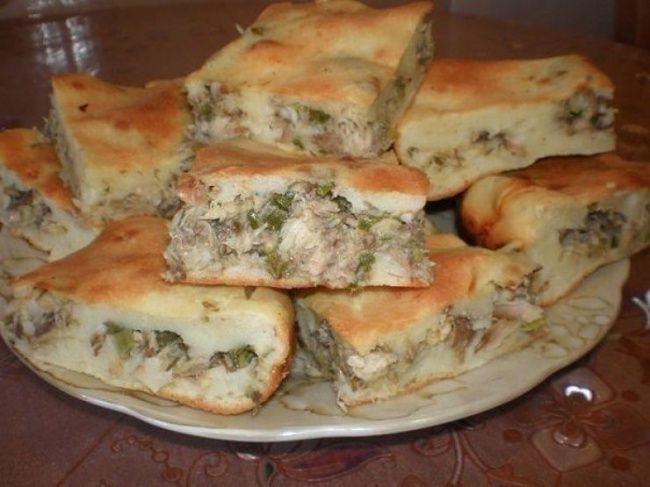 9 быстрых и сытных пирогов на ужин Рыбный пирог на скорую руку