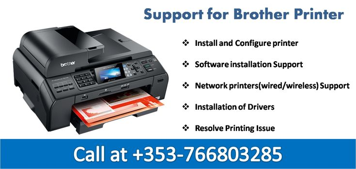 Brother Printer Technical Support Ireland