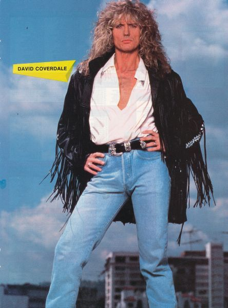 david coverdale 80s