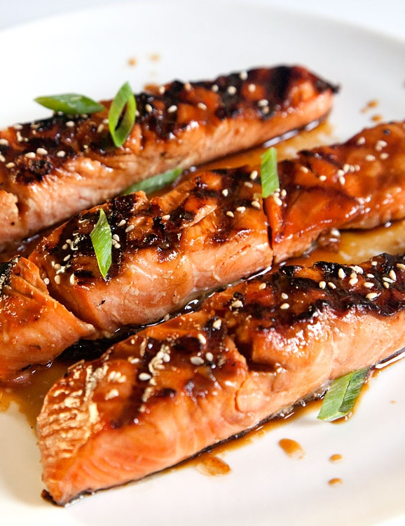 Salmon Teriyaki - I'm trying to include more oily fish in my diet, this recipe is a delicious way of doing that!