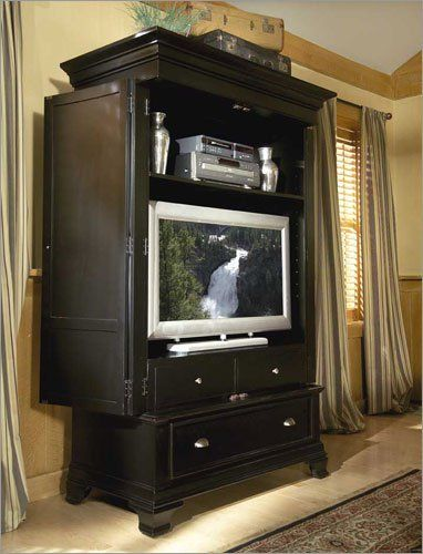 Repurpose a TV Armoire. 17 Best images about tv armoire on Pinterest   Wood veneer