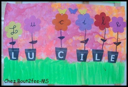 Pour travailler la correspondance lettres capitales et lettres cursives avec mes moyens, ils ont réalisé un jardin lfeuri avec des pots et des fleurs. Tous les pots étaient mélangés sur une table, chaque enfant a dû retrouver ceux contenant les lettres...