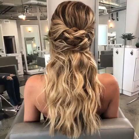 This Hairstyle ������ , Prom, grad, weddings, Coachella season!! ������������������������ Heather Chapman Hair #hairstyles #hair #haircut #haircolor... ,  #Hairstyle #promhairbraided