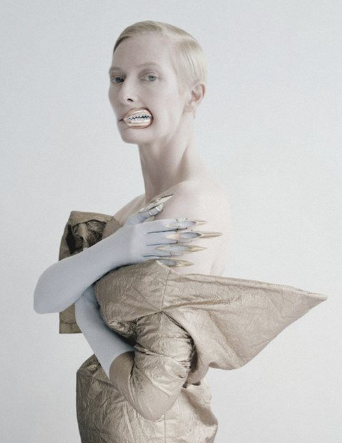 'Stranger Than Paradise' Tilda Swinton by Tim Walker for W May 2013