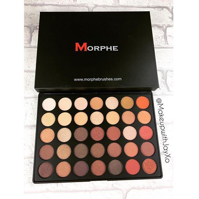 Love my 35o so much that I had to buy her sister, the 35os 😍✨ @morphebrushes #bblogger #bbloggers #bbloggersuk #ukblogger #ukbloggers #ukbblogger #ukbbloggers #bbdaretoshare #beautybay #morphebrushes #morphe #morphegirl #morphe35o #morphe35os #morphepalette #slave2beauty #wakeupandmakeup #warmtones #makeup #makeupaddict #makeuplover #makeupjunkie #newmakeup