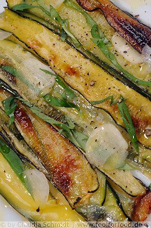 Marinierte Zucchini - Zucchine arrosto