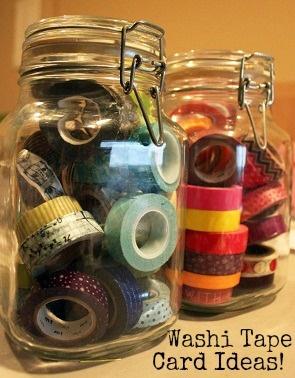 Free washi tape card ideas from CardMaker blog team member Glenda J. Wyatt! Go here: http://www.cardmakermagazine.com/blog/?p=4214