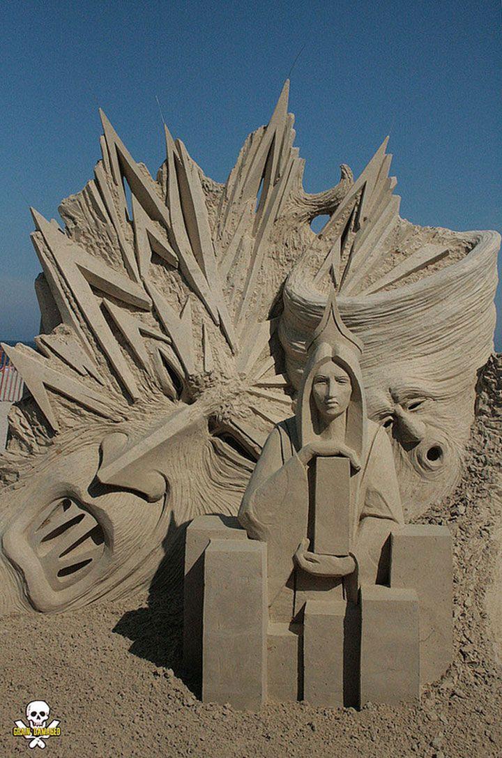 les 25 meilleures id es de la cat gorie sculptures de sable sur pinterest art de san francisco. Black Bedroom Furniture Sets. Home Design Ideas