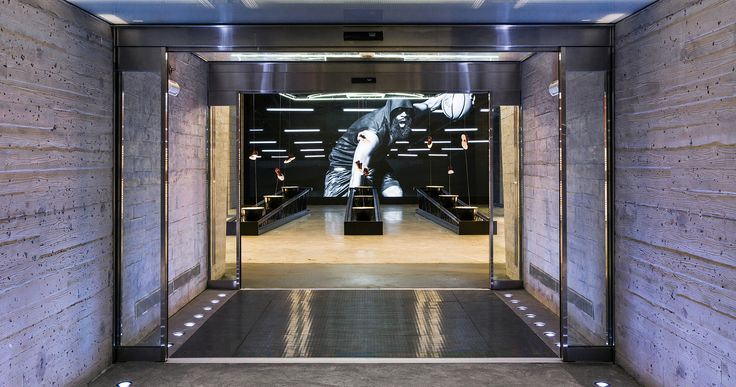 The new space pays homage to the sport culture adidas NYC is built on and is the largest adidas flagship store in the world.