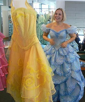 Glinda-Galinda Bubble Dress from Wicked (German Production)