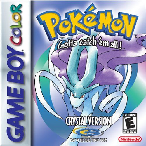 Pokemon Crystal Version - Best Pokemon game ever made.