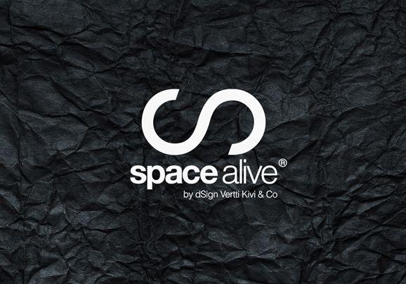 Space alive logo design